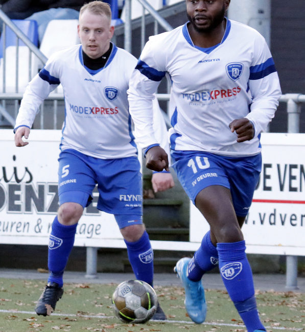 2019-11-24, SV Deurne 1 – Wittenhorst 1